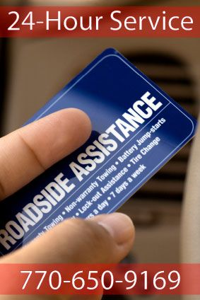 Roadside assistance services provide assistance for vehicle immobility situations, such as a lockout, flat tire, running out of gasoline or mechanical failure.